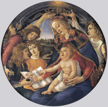 Boticelli painting of the Nativity
