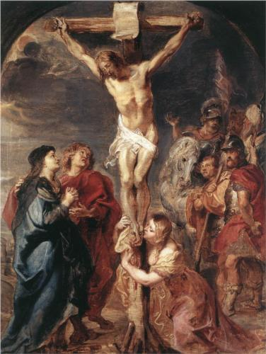 Christ on the Cross by Peter Paul Rubens 1627