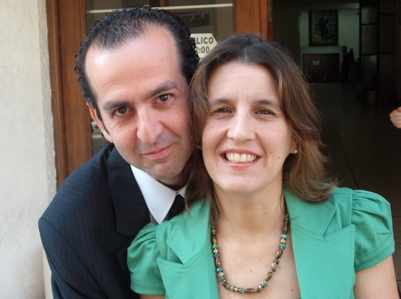 Fernando and Marcela Klein