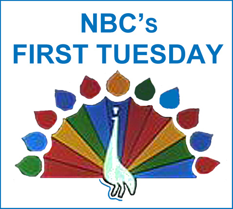 NBC logo for First Tuesday in 1970