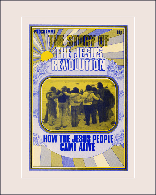Programme cover Jesus People show