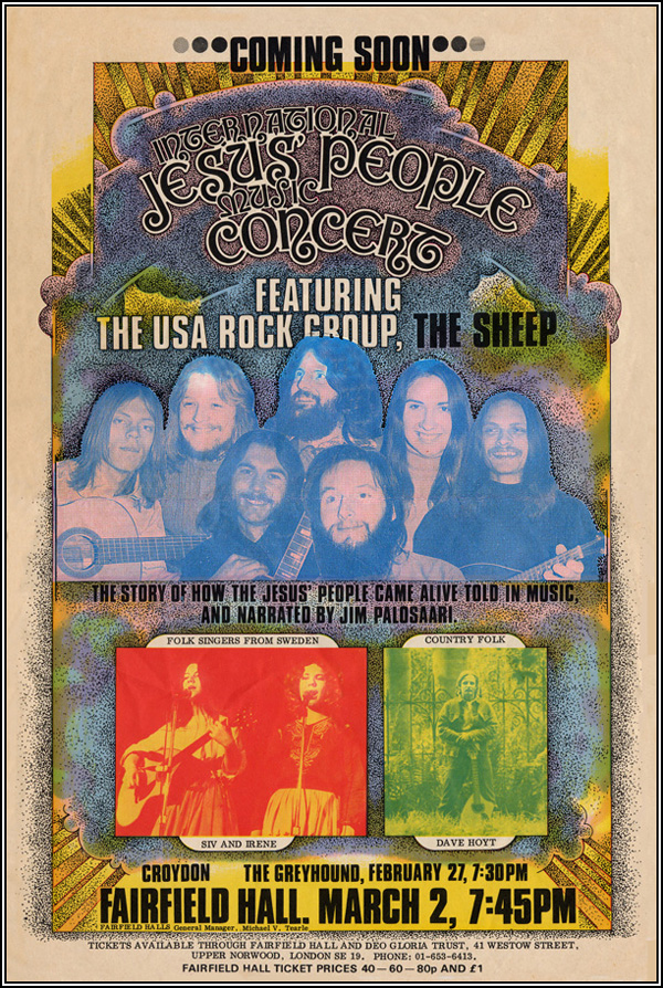 Jesus People Music Concert poster