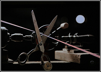 scissors and equipment