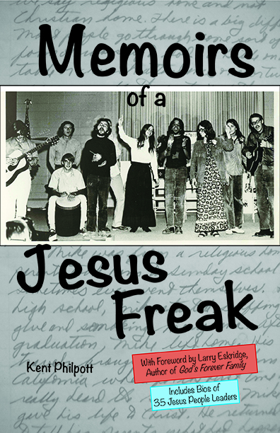 book cover: Memoirs of a Jesus Freak