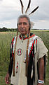 traditional looking North American Indian named Dancing Thunder