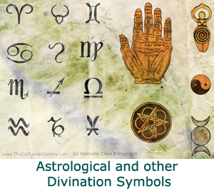 Astrological and other divination symbols