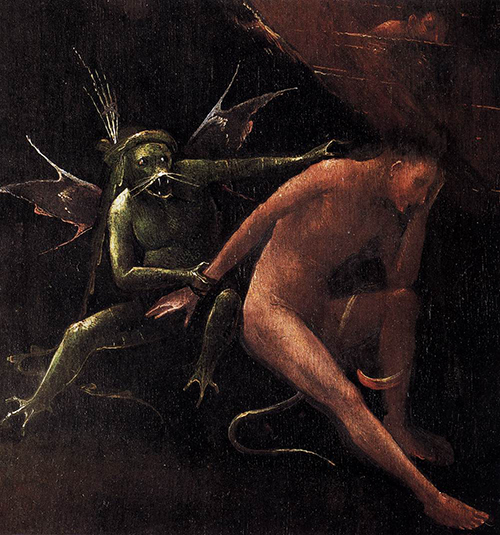 "Hieronymous Bosch ""Hell"" detail"