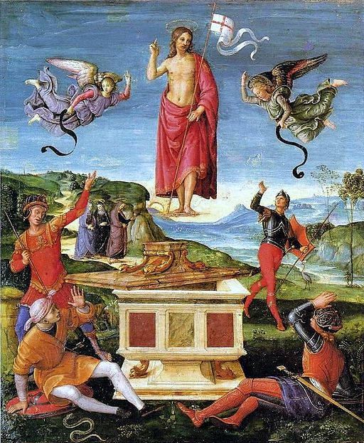 Resurrection of Christ by Raphael