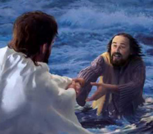 Hold fast to God s hand