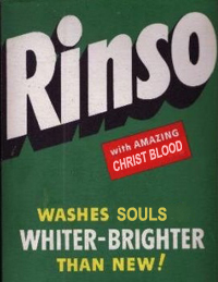 rinso with Christ blood
